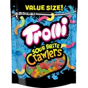 Trolli Sour Brite Crawler Gummy Worms 28.8 oz
