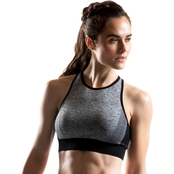 PBX PRO Seamless High Neck Ombre Rib Bra