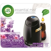 Air Wick Lavender and Almond Blossom Essential Mist Diffuser Starter Kit