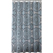Bath Bliss Mandula Design Shower Curtain