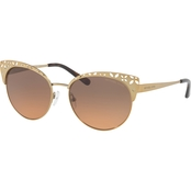 Michael Kors Metal Square Gradient Sunglasses 0MK1023