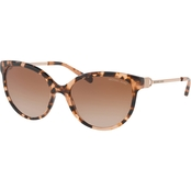 Michael Kors Acetate Cat Eye Polycarbonate Standard Gradient Sunglasses 0MK2052