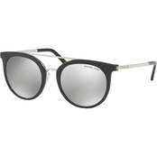 Michael Kors Injected Round Polyamide Standard Mirrored Sunglasses 0MK2056