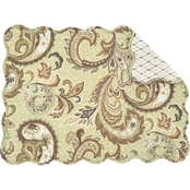 C & F Home Zoey Reversible Placemat 6 pk.