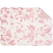 C & F Home Lydia Reversible Placemat 6 pk.