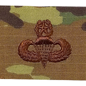 Air Force Badge Master Parachutist, Sew-On (OCP)