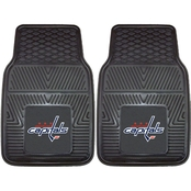 Fan Mats NHL 17 x 27 In. Vinyl 2 Pc. Car Mat Set