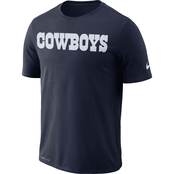 Nike Dallas Cowboys Essential Wordmark Tee