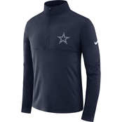 Nike Dallas Cowboys Nike Element Half Zip Jacket