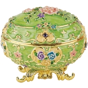 Design Toscano Renaissance Collection Romanov Style Enameled Egg, Couleur Rose
