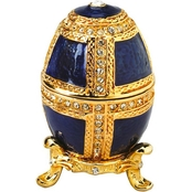 Design Toscano The Royal Family Collection Romanov Style Enameled Egg: Anya