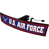 Fan Mats Military Service Branch Light Up Hitch Cover