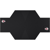 Fan Mats NFL 82.5 x 42 in. Motorcycle Mat