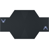 Fan Mats Military Service Branch 82.5 x 42 in. Motorcycle Mat