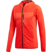 adidas Outdoor Tracerocker Hooded Fleece Performance Jacket