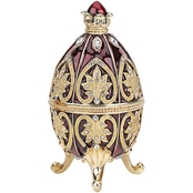 Design Toscano Alexander Palace Collection Romanov Style Enameled Egg, Polotsk
