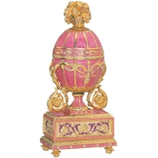 Design Toscano The St. Petersburg Imperial Collection Romanov Style Enameled Egg
