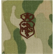 Air Force Badge Chief Medical Service Velcro (OCP)
