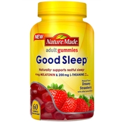 Nature Made Good Sleep Dreamy Strawberry Adult Gummies 60 ct.