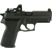 Sig Sauer P229 9mm 3.9 in. Barrel 15 Rnd NS Pistol Black with Romeo1