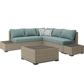 Ashley Silent Brook Sectional with Cocktail Table