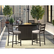 Ashley Perrymount Bar Table with 4 Barstools