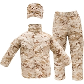 Trooper Clothing Kids 3 Pc. Marine Desert Uniform Set