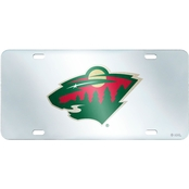 Fan Mats NHL Inlaid License Plate