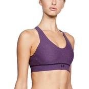 Under Armour Vanish Mid Heathered Sports Bra