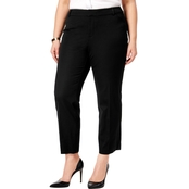 Charter Club Plus Size Newport Tummy Control Cropped Pants