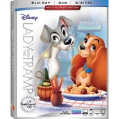 Disney Lady and the Tramp Signature Collection (DVD + Blu-ray + Digital)
