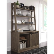 Ashley Luxenford Credenza and Hutch Set