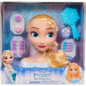 Just Play Frozen Elsa Style Head