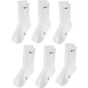Nike Boys Performance Cushion Crew Socks 6 pk.