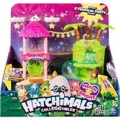 Hatchimal CollEGGtibles Tropical Party Playset