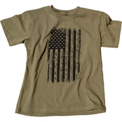 Trooper Clothing Little Kids Old Glory Distressed Tee