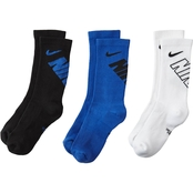 Nike Youth Performance Crew Socks 3 pk.