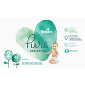 Pampers Pure Protection Diapers Size 2 (12-18 lb.) 68 Ct.