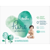 Pampers Pure Protection Diapers Size 3 (16-28 lb.) 60 Ct.