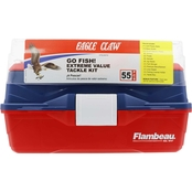 Eagle Claw Freshwater Tackle Box Kit