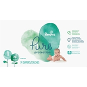 Pampers Pure Protection Diapers Size 1 (8-14 lb.) 74 Ct.
