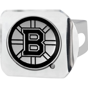Fan Mats NHL Chrome Hitch Cover