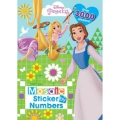 Disney Princess Mosaic Sticker Book (Hardcover)