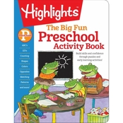 The Big Fun Preschool Activity Book (Highlights Big Fun Activity Workbooks)
