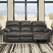 Ashley Dunwell Power Reclining Sofa with Power Headrest