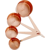 Martha Stewart Collection Copper Plated Measuring Cups