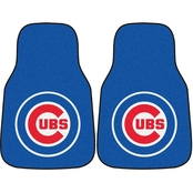 Fan Mats MLB 17 x 27 In. Carpeted 2 Pc. Car Mat Set