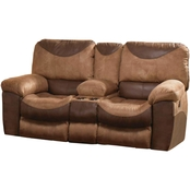 Catnapper Portman Power Reclining Console Loveseat