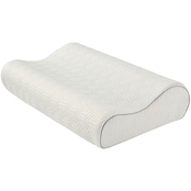 Martha Stewart Collection Dream Science Contoured Memory Foam Pillow