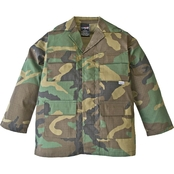 Trooper Clothing Little Kids Classic BDU Camouflage Shirt